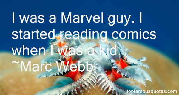 Quotes About Marvel Comics
