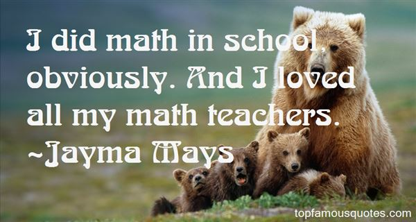 Quotes About Math And Love