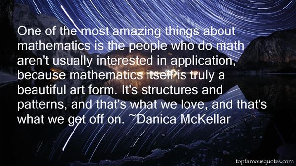 Quotes About Mathematics And Love