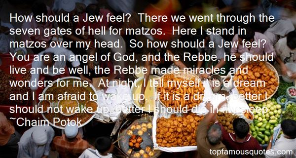 Quotes About Matzos