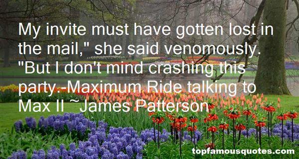 Quotes About Maximum Ride