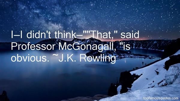 Quotes About Mcgonagall
