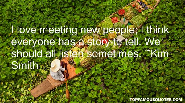 Quotes About Meeting New People