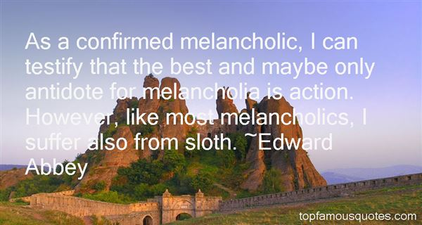 Quotes About Melancholic