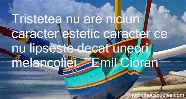 Quotes About Melancolie