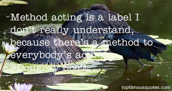 Quotes About Method Acting