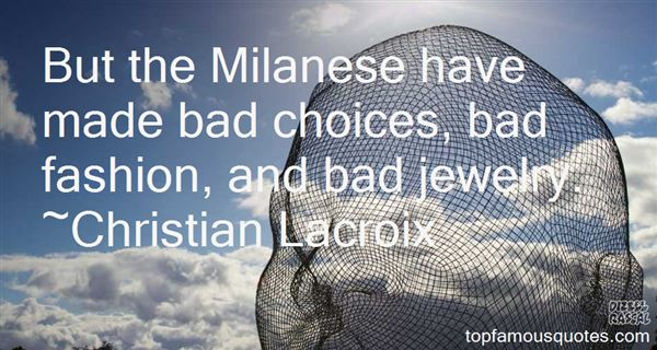 Quotes About Milan