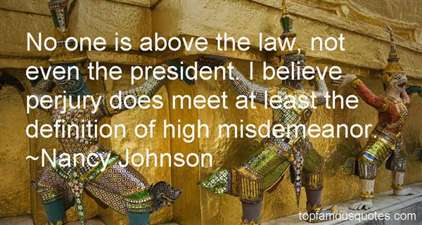 Quotes About Misdemeanor
