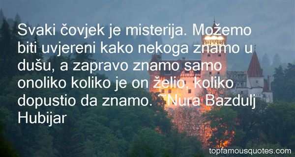 Quotes About Misterija
