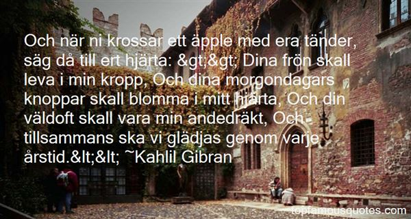 Quotes About Morgon