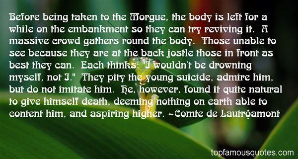 Quotes About Morgue