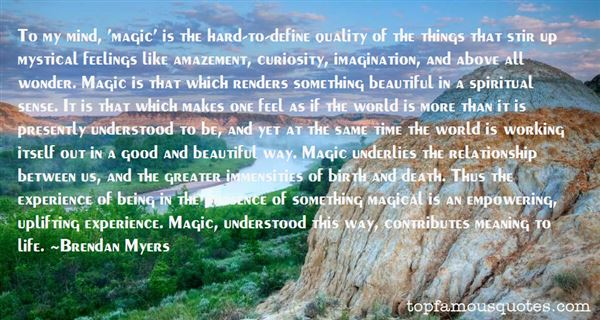 Quotes About Mystical Death