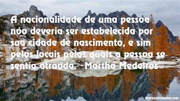 Quotes About Nacionalidade
