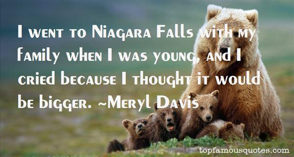 Quotes About Niagara Falls