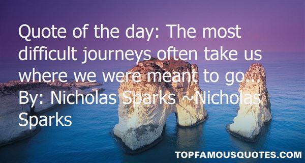 Quotes About Nicholas Sparks