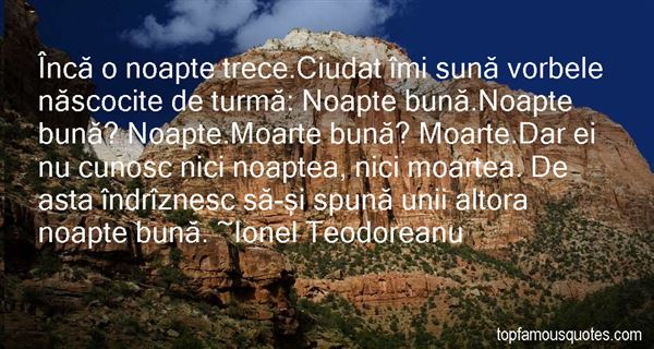 Quotes About Noapte