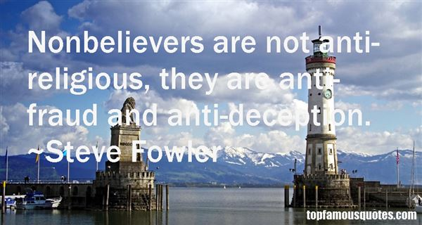 Quotes About Nonbelievers