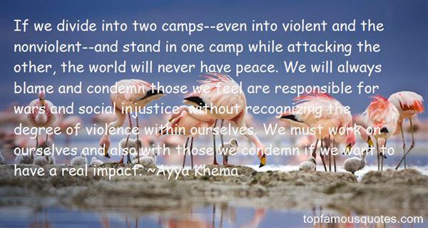 Quotes About Nonviolent