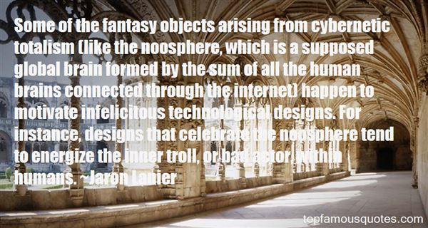 Quotes About Noosphere