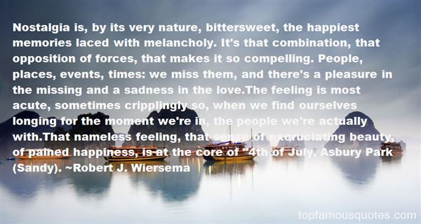 Quotes About Nostalgia And Time