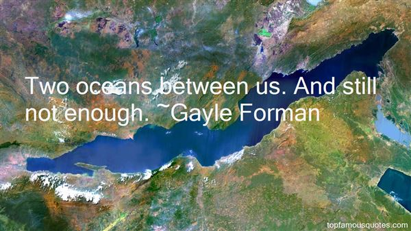 Quotes About Oceans