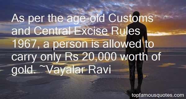 Quotes About Old Customs