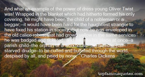 Quotes About Oliver Twist