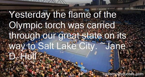Quotes About Olympic Torch