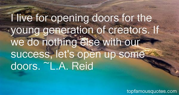 Quotes About Opening Doors