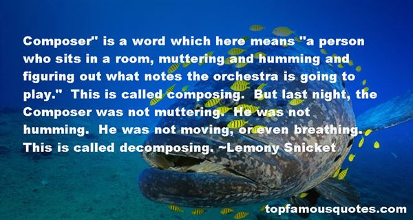 Quotes About Orchestra