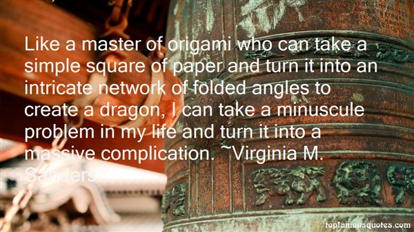 Quotes About Origami