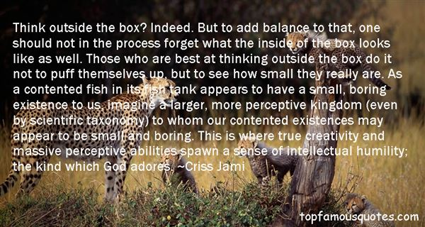 Quotes About Out Of The Box Thinking