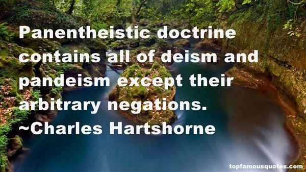 Quotes About Pandeism
