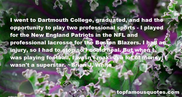 Quotes About Patriots Football