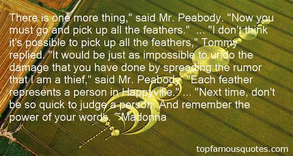 Quotes About Peabody