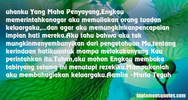Quotes About Penyayang