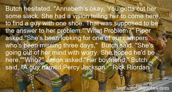 Quotes About Percy Jackson