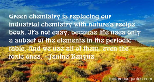 Quotes About Periodic Table