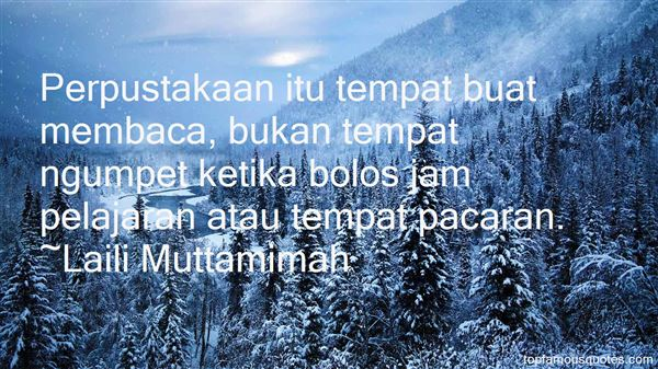 Quotes About Perpustakaan