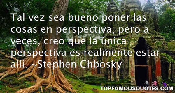 Quotes About Perspectiva