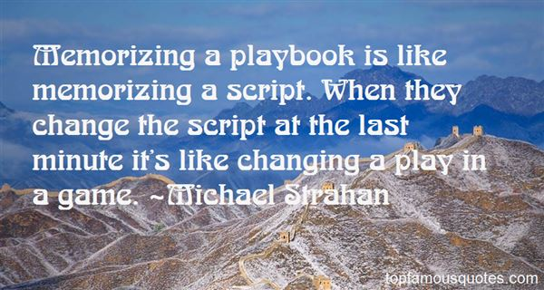 Quotes About Playbook