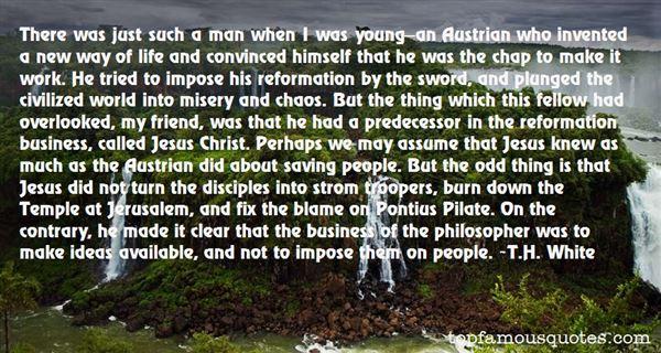Quotes About Pontius
