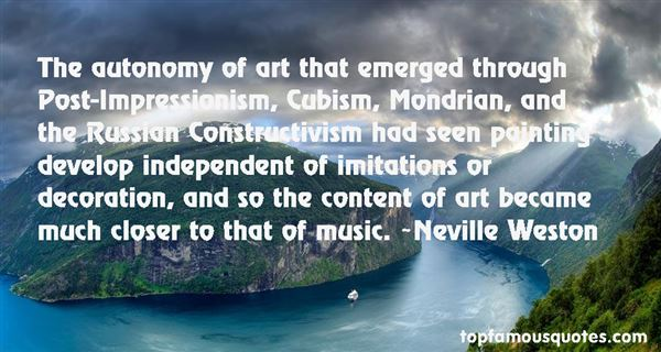 Quotes About Post Impressionism
