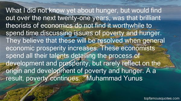 Quotes About Poverty And Hunger