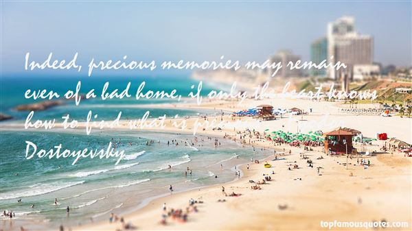 Quotes About Precious Memories