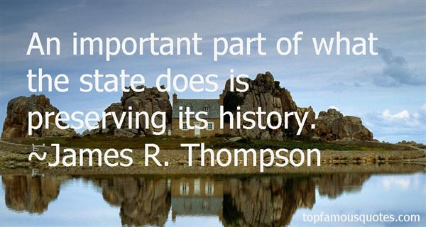 Quotes About Preserving History