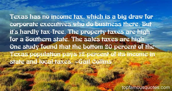 Quotes About Property Taxes