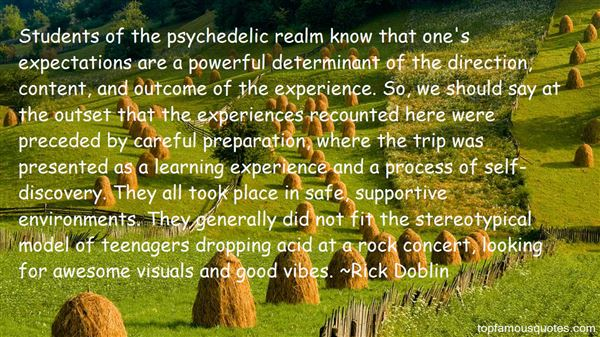 Quotes About Psychedelic Experience