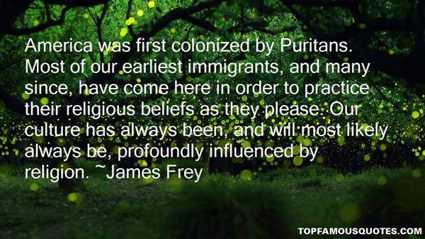 Quotes About Puritan Beliefs
