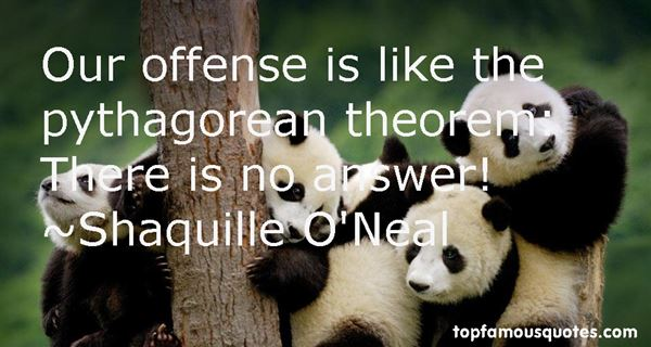 Quotes About Pythagorean Theorem
